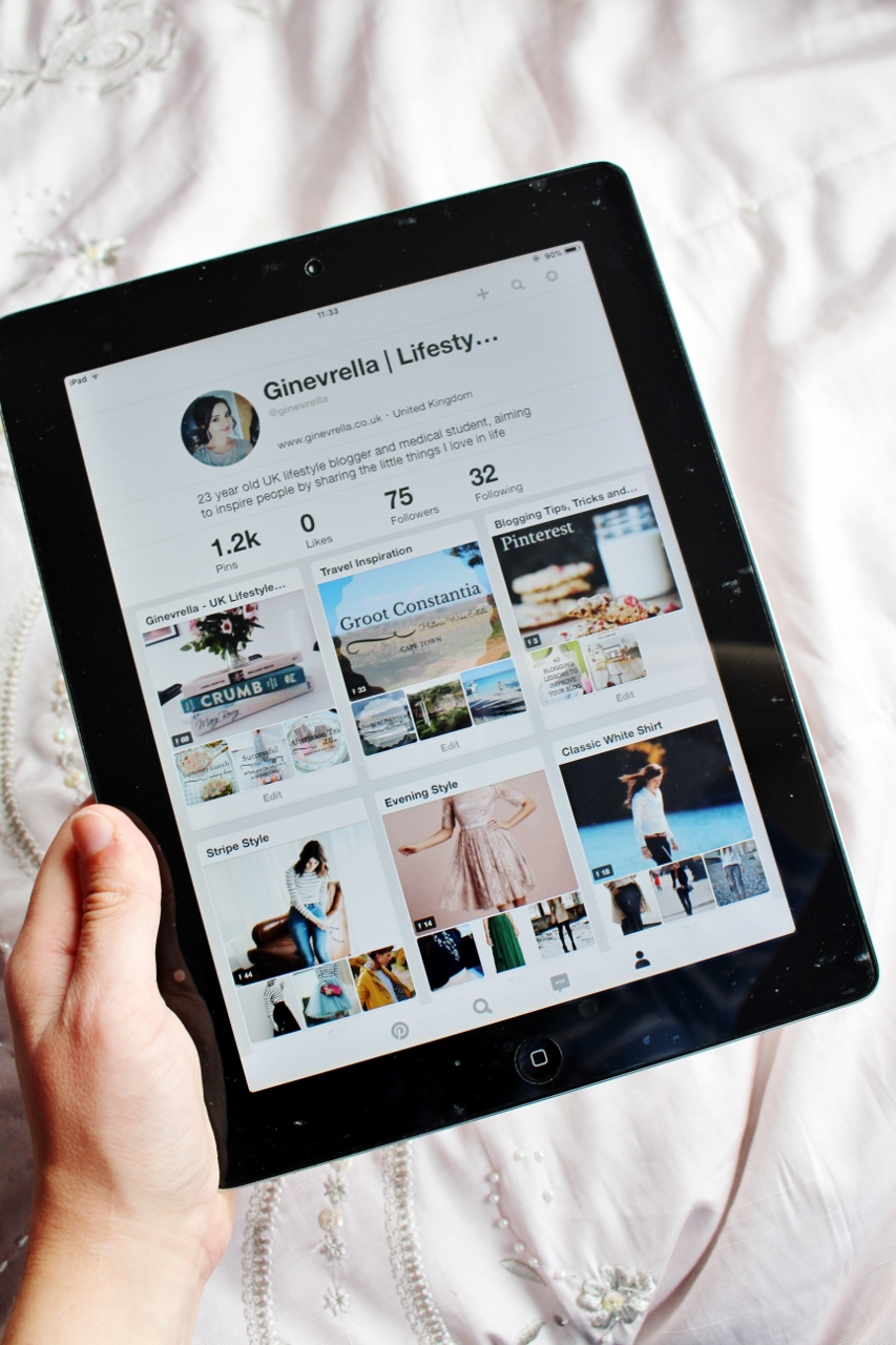 Ginevrella Lifestyle Blog on Pinterest