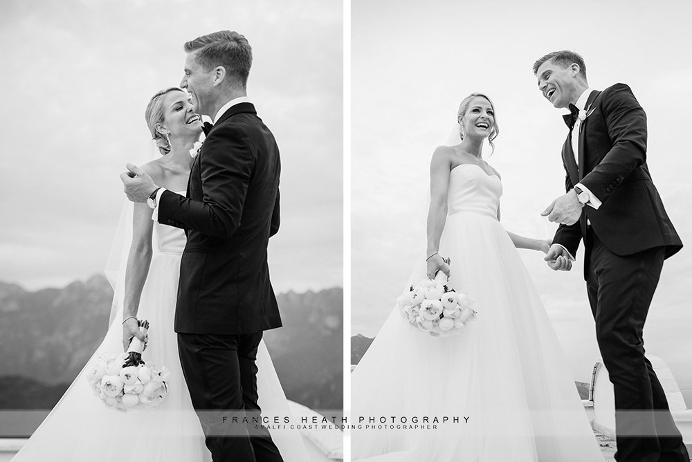 Wedding portrait at Villa Eva