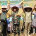 Dandim dan Bupati Cilacap,  Panen Jagung Bersama Gapoktan Sumber Harapan Desa Sawangan