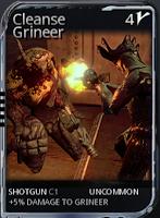 旧Cleanse Grineer