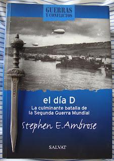 Portada del libro El Día D, de Stephen E. Ambrose
