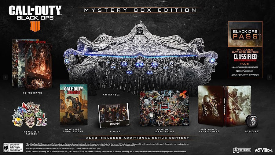 call of duty: black ops 4 zombies mystery box edition