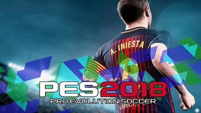 Iniesta 2018 Start Screen PES 2017