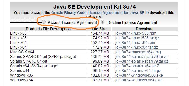 Install Java D Windows Work