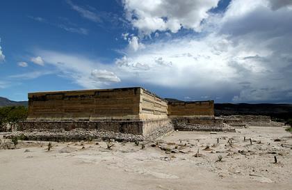 Mixtec ruin