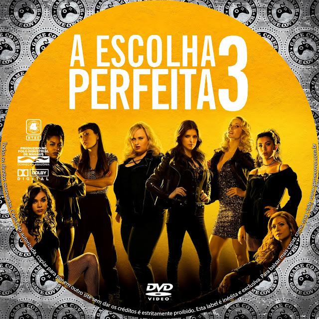 Label DVD A Escolha Perfeita 3 [Exclusiva]