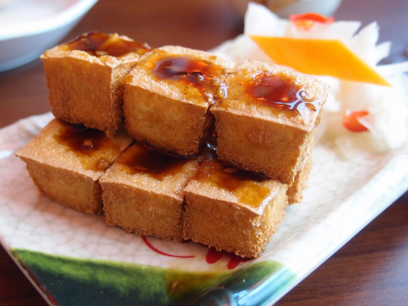 泡菜黄金豆腐