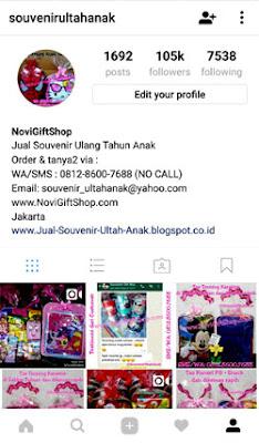 Instagram Novi Gift Shop No Garansi NoviGiftShop