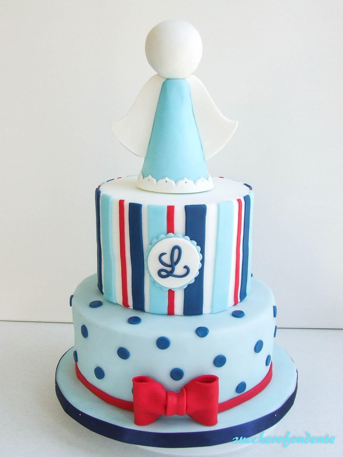 Tante idee per un baby shower: torte decorate per bambine