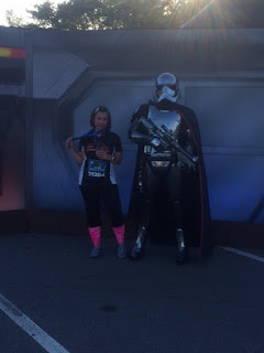 Star Wars 10k running with Captain Phasma