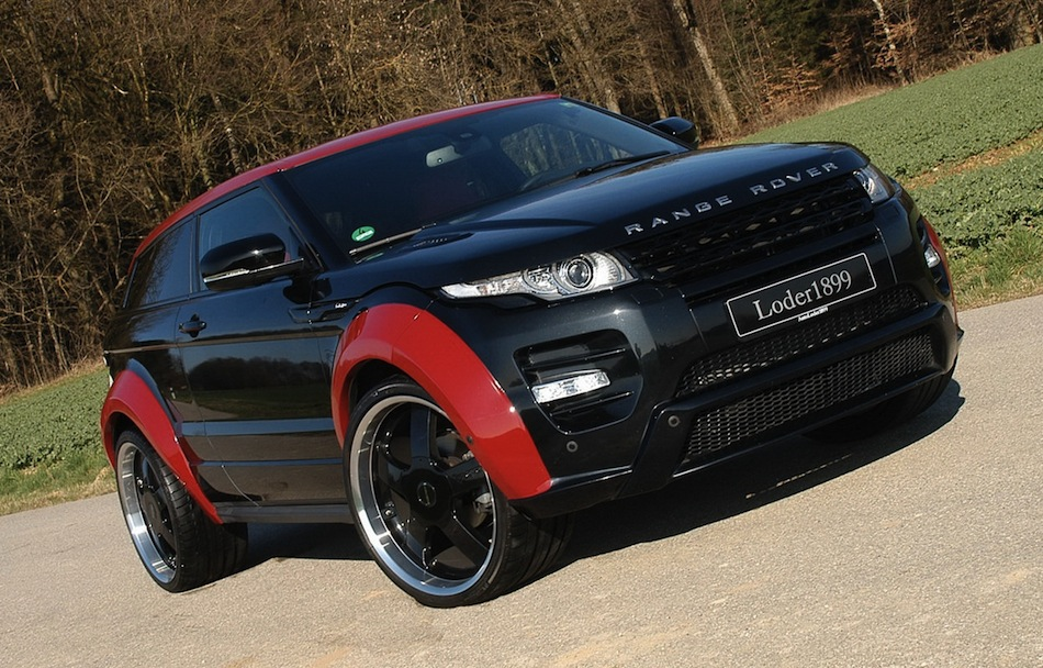 range rover evoque tuning cars b gsportruck. Black Bedroom Furniture Sets. Home Design Ideas