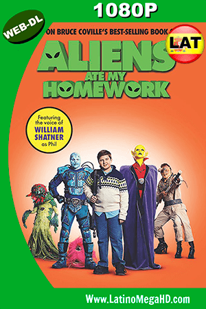 Aliens Ate My Homework (2018) Latino HD WEB-DL 1080P ()