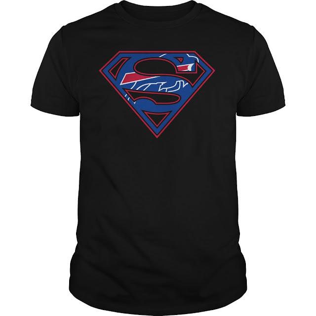 Buffalo Bills Superman Logo Shirt