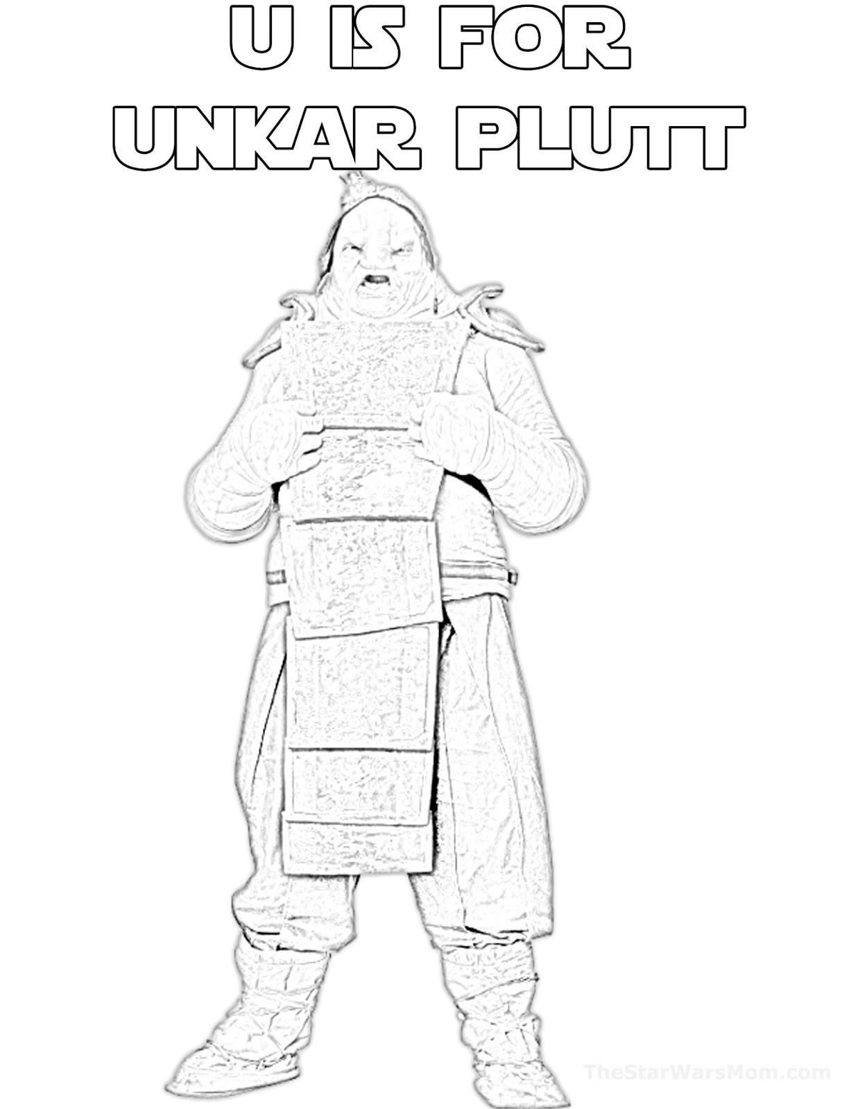 U Is For Unkar Plutt