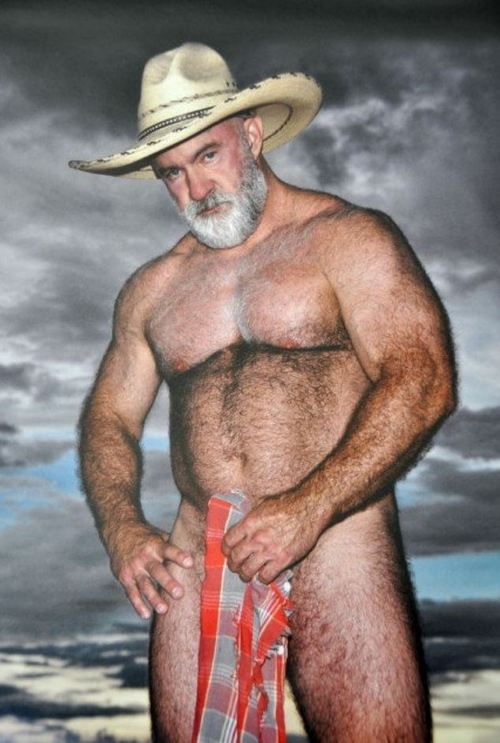 beefy hairy chested men