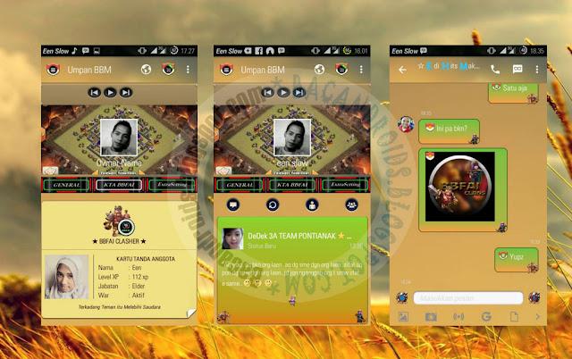 download BBM Mod Thema Clash Of Clans