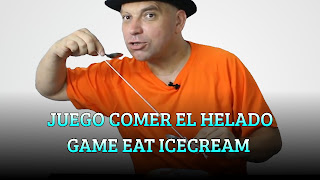 Juego comer el helado, SPOON GAME, Game eat icecream