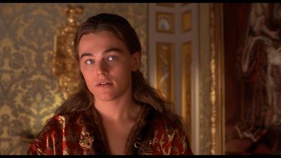 movie The Man in the Iron Mask - Leonardo DiCaprio as King Louis XIV