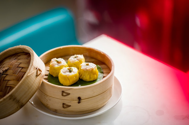 Chicken and prawn shumai