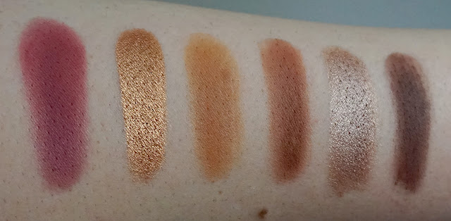 Swatch palette You Had Me at Hello Colourpop
