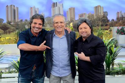 João, Carlos e Porpetone (Crédito: Lourival Ribeiro/SBT)