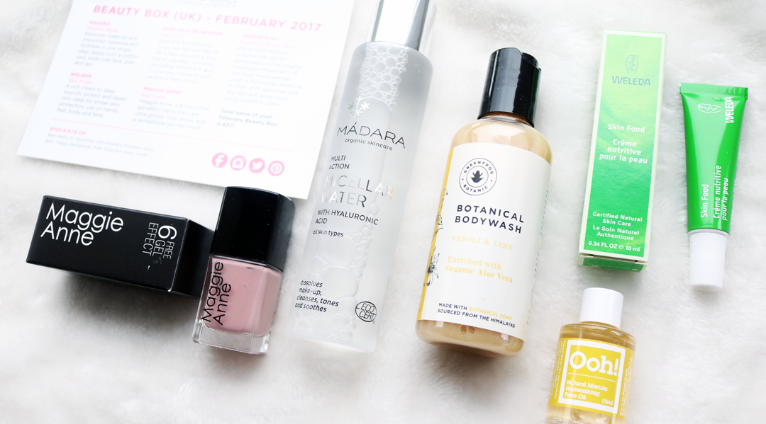 LoveLula Beauty Box - February 2017 review