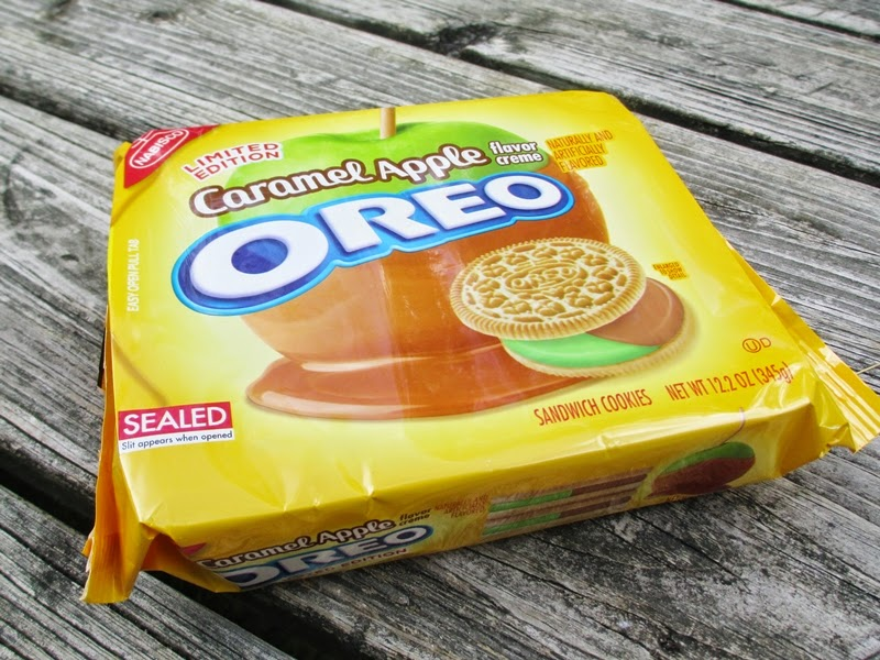Package of Limited Edition Caramel Apple Oreos