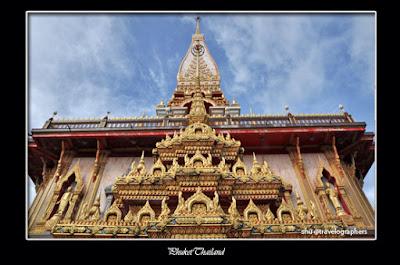 wat chalong, phuket, thailand, buddha