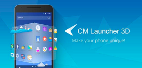 Cheetah Mobile's highest rated launcher on Google Play, CM Launcher 3D is fully loaded with features