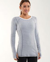 lululemon womens turn around long sleeve running top
