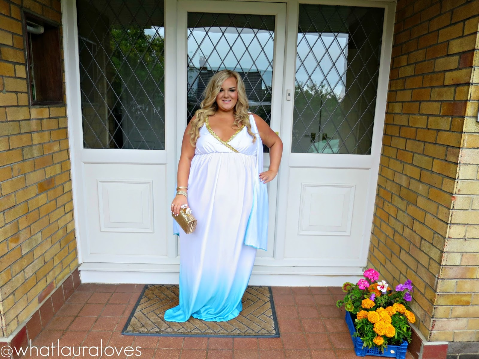 WhatLauraWore: Greek Goddess Plus Size Fancy Dress ...