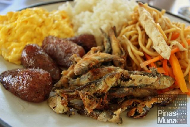 breakfast at Summit Ridge Tagaytay