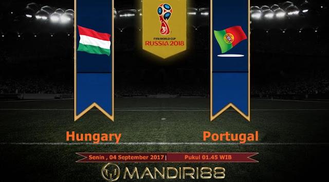 Timnas Portugal akan melawat ke markas timnas Hongaria di Stadion Groupama Arena pada lag Terkini Prediksi Bola : Hungary Vs Portugal , Senin 04 September 2017 Pukul 01.45 WIB