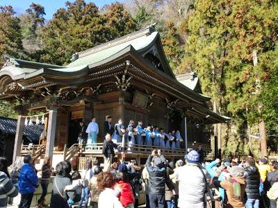 御霊神社の節分祭