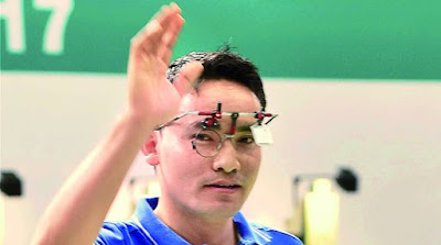 Spotlight : Jitu Rai Shoots 50m Pistol Gold With Record Score