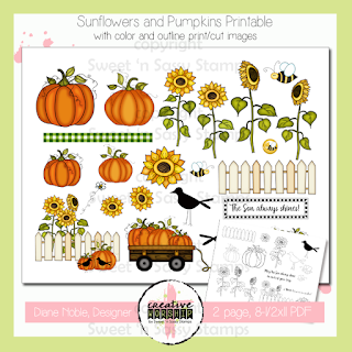 http://www.sweetnsassystamps.com/creative-worship-sunflowers-pumpkins-printable/
