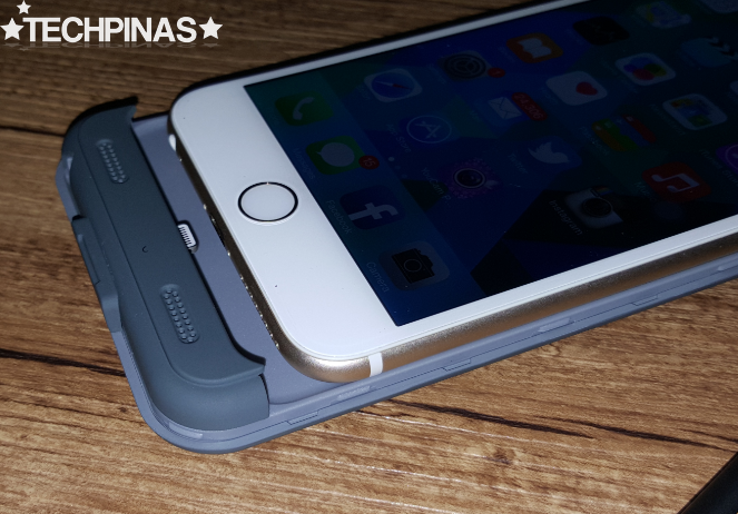 Power Case for Apple iPhone 6 Plus, Boompods Power Case