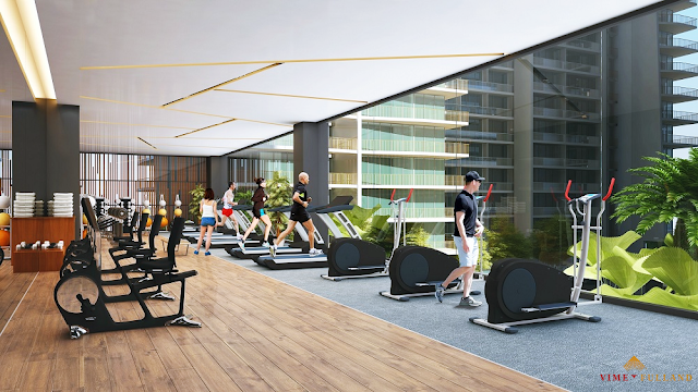 Phòng tập Gym dự án Athena Fulland Đại Kim