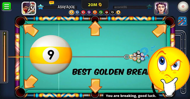 TOP 5 MOST EFFECTIVE GOLDEN BREAK - 9 BALL POOL