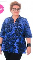 poza bluza moderna pentru femei marimi mari