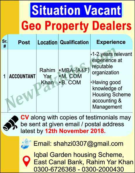 jobs-in-rahim-yar-khan-accountant-04-novermber-2018