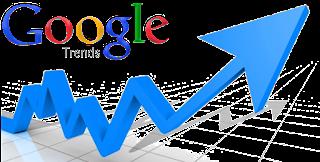 Mencari kata kunci populer dengan google rends