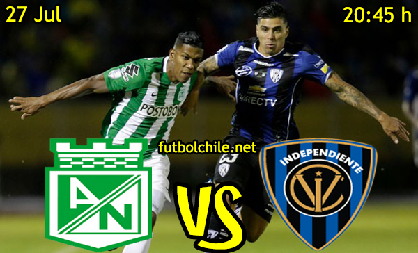 VER STREAM SEÑAL YOUTUBE RESULTADO EN VIVO, ONLINE: Atlético Nacional vs Independiente del Valle