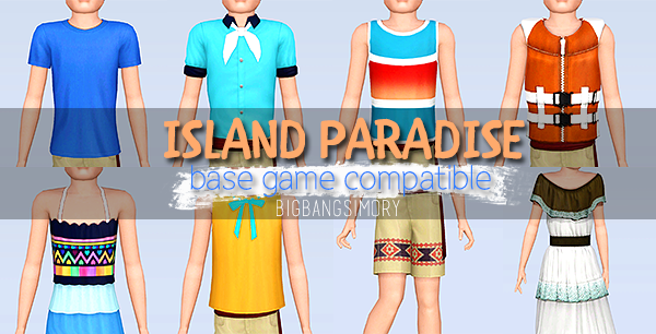 My Sims 3 Blog: Island Paradise Base Game Compatible