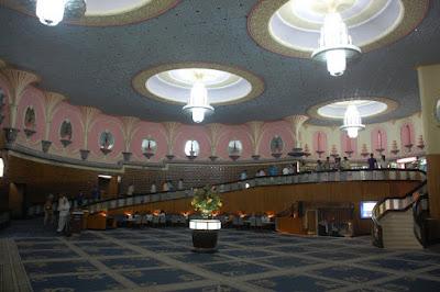 Interiors Of Raj Mandir Jaipur Rajasthan