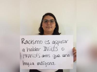 Lenguaje, racismo y mame