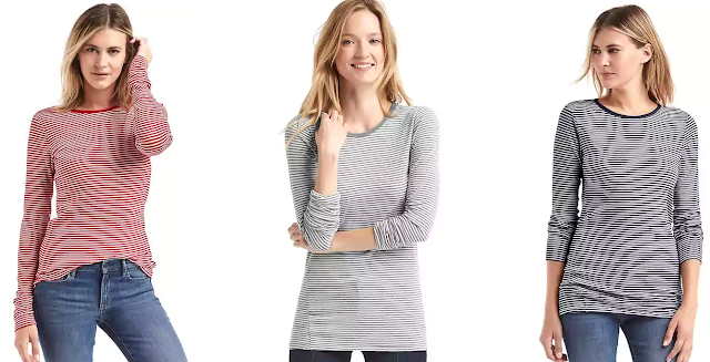 Gap Long Sleeve Stripe Tunic Tee $13 (reg $30)