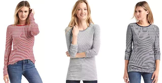 Gap Long Sleeve Stripe Tunic Tee $13 (reg $30)