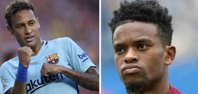 Neymar y Semedo a los guantazos en el entrenamiento