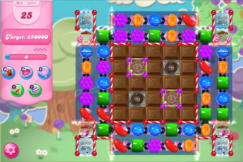 Candy Crush Saga level 5971